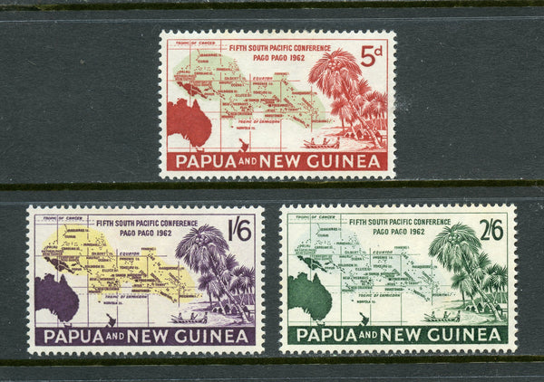 Papua and New Guinea Scott 167-68 Mounted Mint