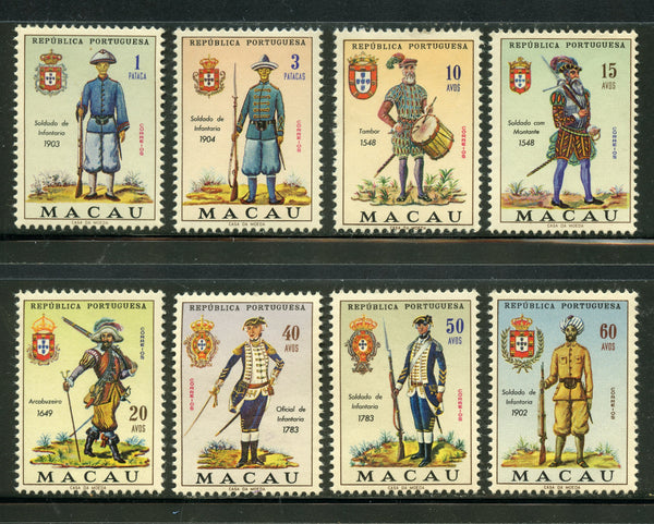 Maccau Scott 404-22 Mint NH Set