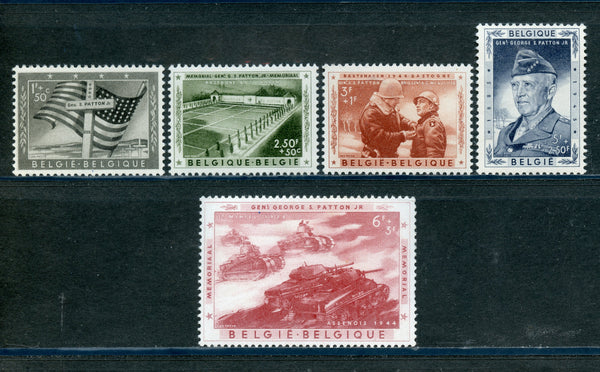 Belgium Scott B606-10 Mounted Mint Set
