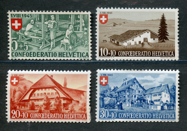 Switzerland Scott B146-49 Mint NH Set