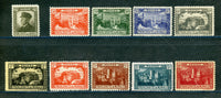 Monaco Scott 40-49 complete Set Mint Hinged