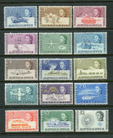 British Antarctic Territory Scott 1-15 Mint NH Set