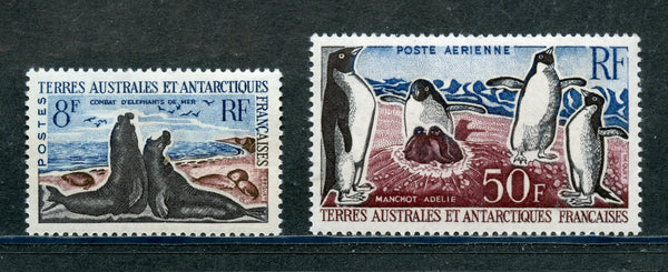 French Southern Antarctic Scott 22, C4 mint NH Set