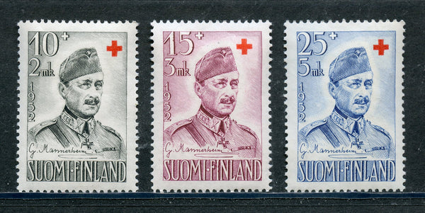 Finland Scott B117-19 Mint NH Set Red Cross