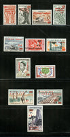 Cameroun Scott 343-51, C38-40 Mint NH Set