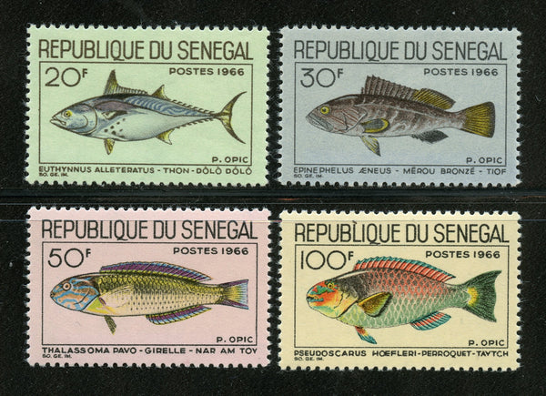 Senegal Scott 270-73 Fish Mint NH Set