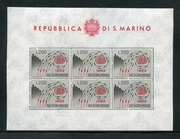San Marino Scott 539 Mint NH Sheet of 6