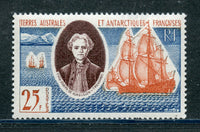 French Southern  Antarctic Scott 20 mint NH