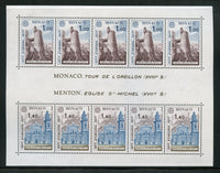 Monaco Scott 1068a EUROPA 1977 Mint NH Sheet