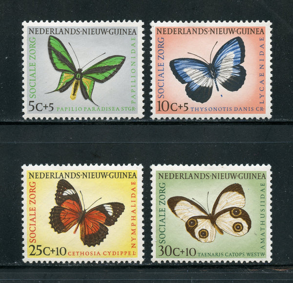 Netherlsnd New Guinea Scott B23-26 Butterflies Mint NH Set
