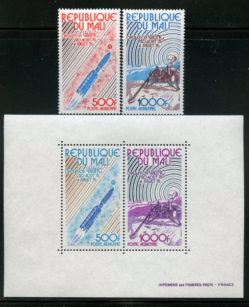 Mali Scott C293-4, C294a Space Mint NH