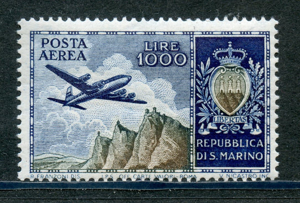 San Marino Scott C91 Mint NH Plane