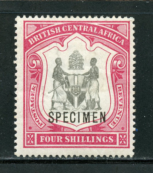 British Central Africa Scott 53 Specimen Mint LH