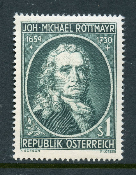 Austria Scott 594 Rottmayr Mint NH