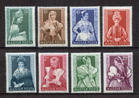 Hungary Scott 1062-69 Mint NH S. Sheet Costume