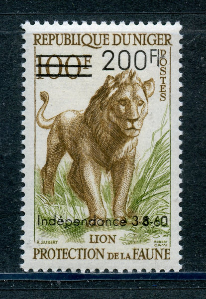 Niger Scott 103 Lion Mint NH