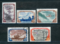 Russia Scott 1598-1602 CTO Used NH Set