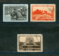 Russia Scott 1542-44 CTO Used NH Set