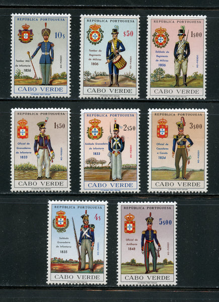 Cape Verde Scott330-37 Mint NH Costumes