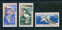 MAURITANIA Scott C14-16 Birds Mint Set LH