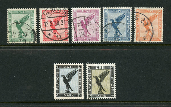 Germany C27-34 Mint and Used Set