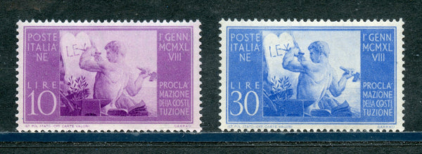 Italy Scott 493-4 Mint NH Set