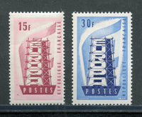 France Scott 805-6 EUROPA NH Set
