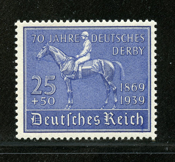 Germany Scott B144 Mi 40 Mint NH Horse