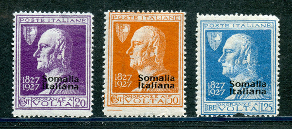 Somalia Italian Scott 97-99 Mounted Mint