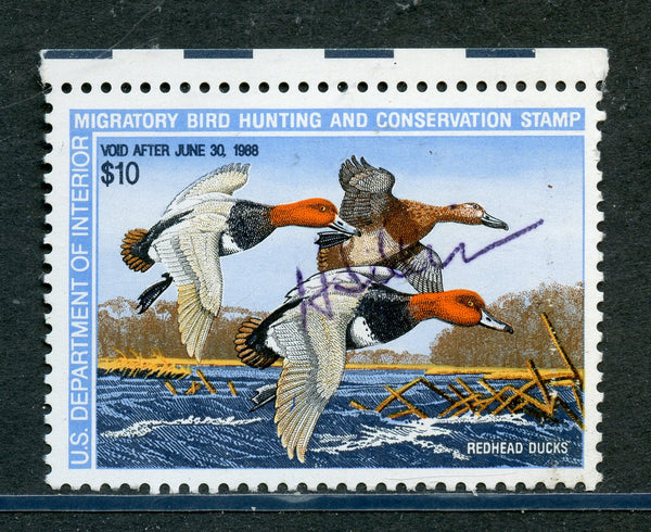 US Scott RW54 Duck Stamp Mint NH