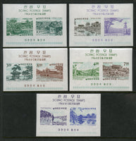 Korea Scott 439a-43a Mint NH S. Sheets