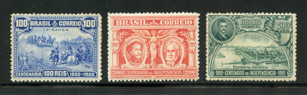 Brazil Scott 260-62 Mounted mint