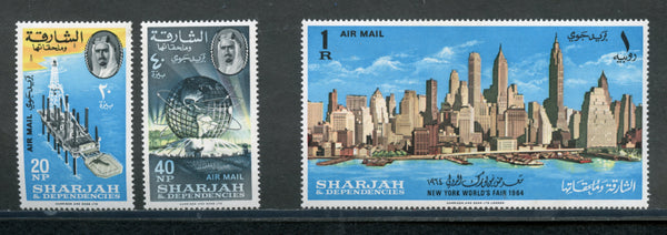 Sharjah Scott C22-24 N.Y.World Fair mint NH