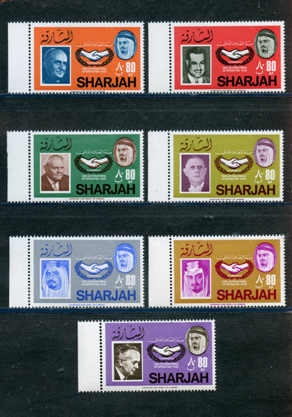 Sharjah Michel 189-87 ICY Mint NH