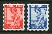 Norway Scott B48-9 Mint NH Set