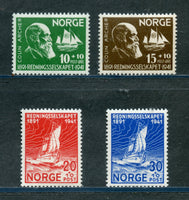 Norway Scott B20-23 Mint NH Set