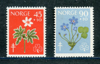 Norway Scott B62-63 Mint NH Set