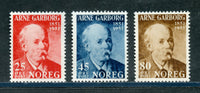 Norway Scott 318-20 Mint NH Set