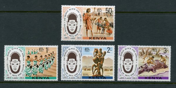 Kenya Scott 72-75 Mint NH Set