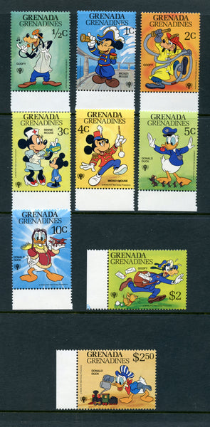 Grenada Grenadines Scott 350-58 Disney Mint NH