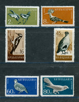 Bulgaria Scott 1050-55 Birds Mint NH Set