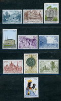 Luxembourg Scott 389-99 Mint NH Set