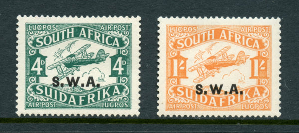 South West Africa Scott C3-4 Airmail Mint LH