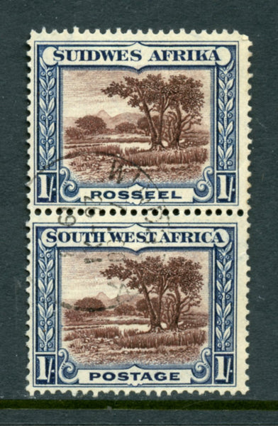 South West Africa Scott 115 Used Pair
