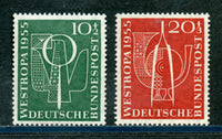 Germany Scott B342-3 Mint Never Hinged