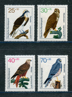 Germany Scott B496-99 Mint Never Hinged Birds