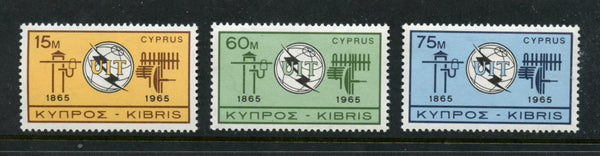 Cyprus Scott 265-68 Mint NH Set