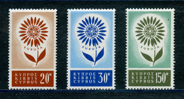 Cyprus Scott 244-46 EUROPA Mint NH Set