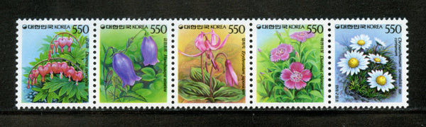 KOREA Scott 1490a Flowers Mint NH