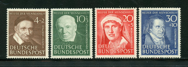Germany Scott B320-23 Mi330-33 Mint Never Hinged